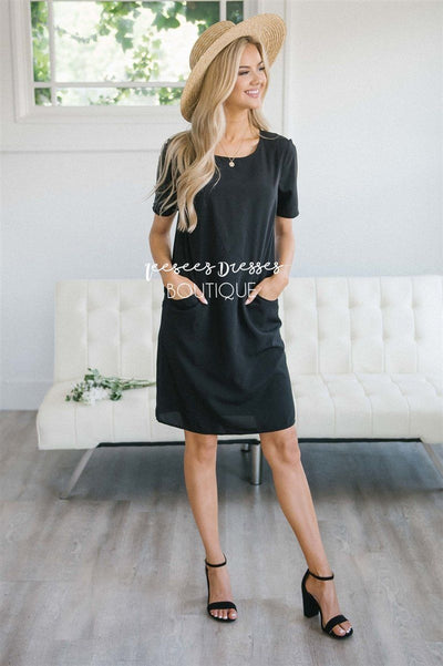 The Beverley Modest Dresses vendor-unknown Black S