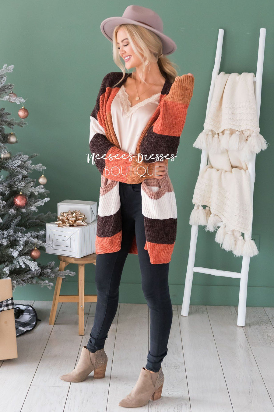 Adventures Ahead Chenille Cardigan