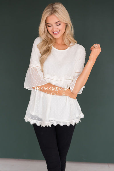 All About that Lace Blouse Tops vendor-unknown