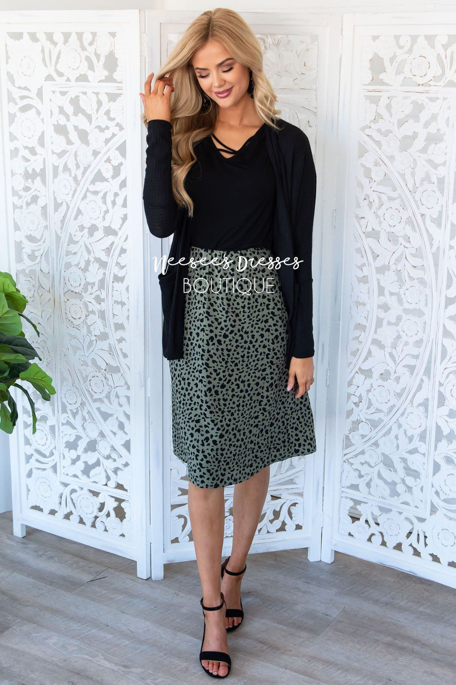Always & Forever Skirt Modest Dresses vendor-unknown