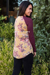 Autumn Afternoon floral top Modest Dresses vendor-unknown