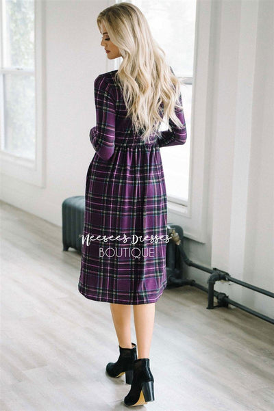 The Nellie Plaid Dress