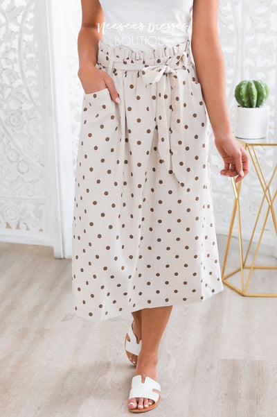 Lots of Dots Modest Skirt Modest Dresses vendor-unknown