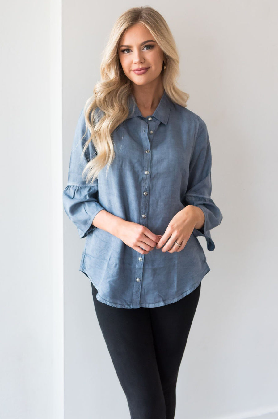 Only A Day Dream Modest Blouse