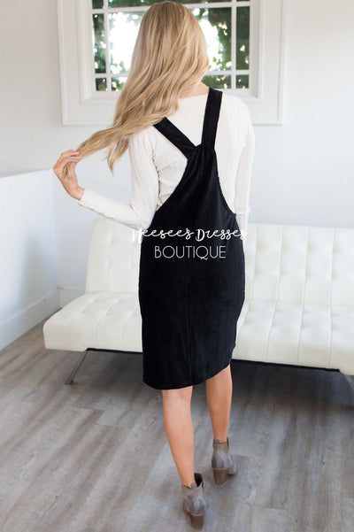 The Petra Pocket Overall Dress Modest Dresses vendor-unknown