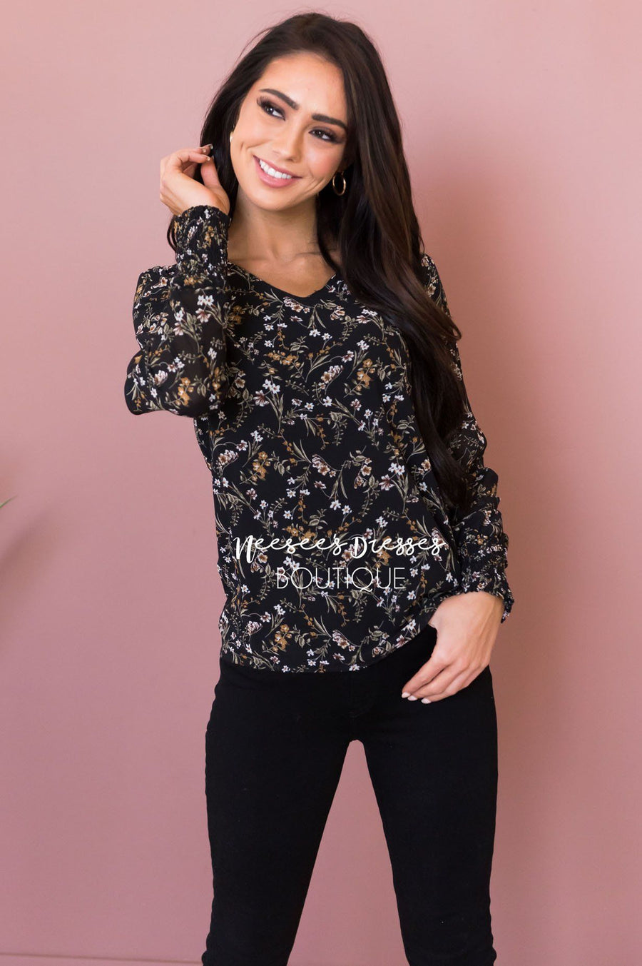 Speak Your Heart Modest Blouse
