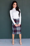 Divine Intervention Modest Pencil Skirt Modest Dresses vendor-unknown