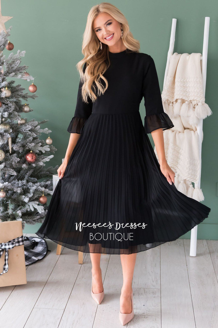 The Valeria Modest Dresses vendor-unknown