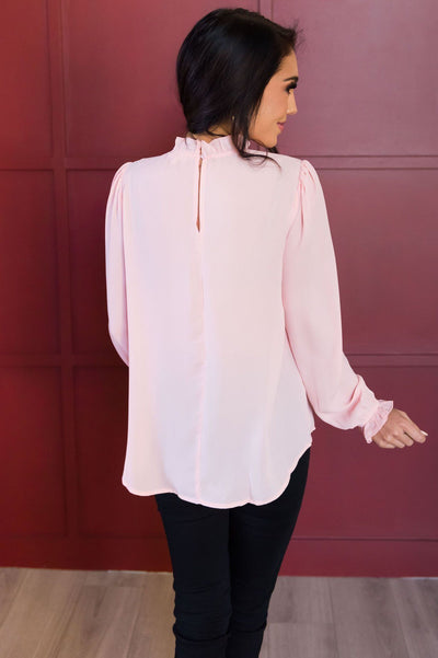 Down To Business Modest Blouse Tops vendor-unknown