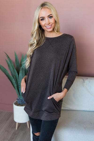 Kind & Carefree Modest Tunic Modest Dresses vendor-unknown