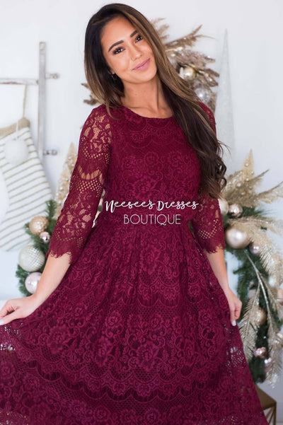 The Angelika Modest Dresses vendor-unknown
