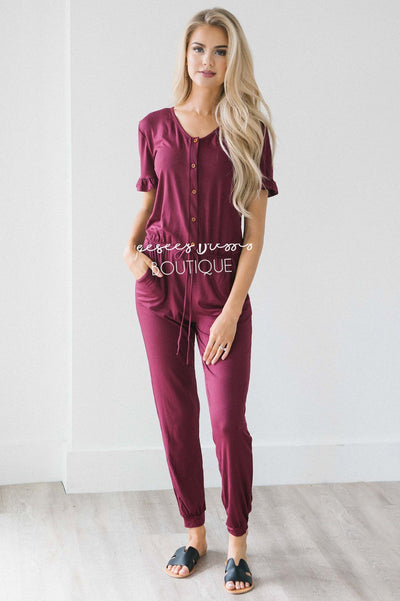 The Juno Jumpsuit Modest Dresses vendor-unknown