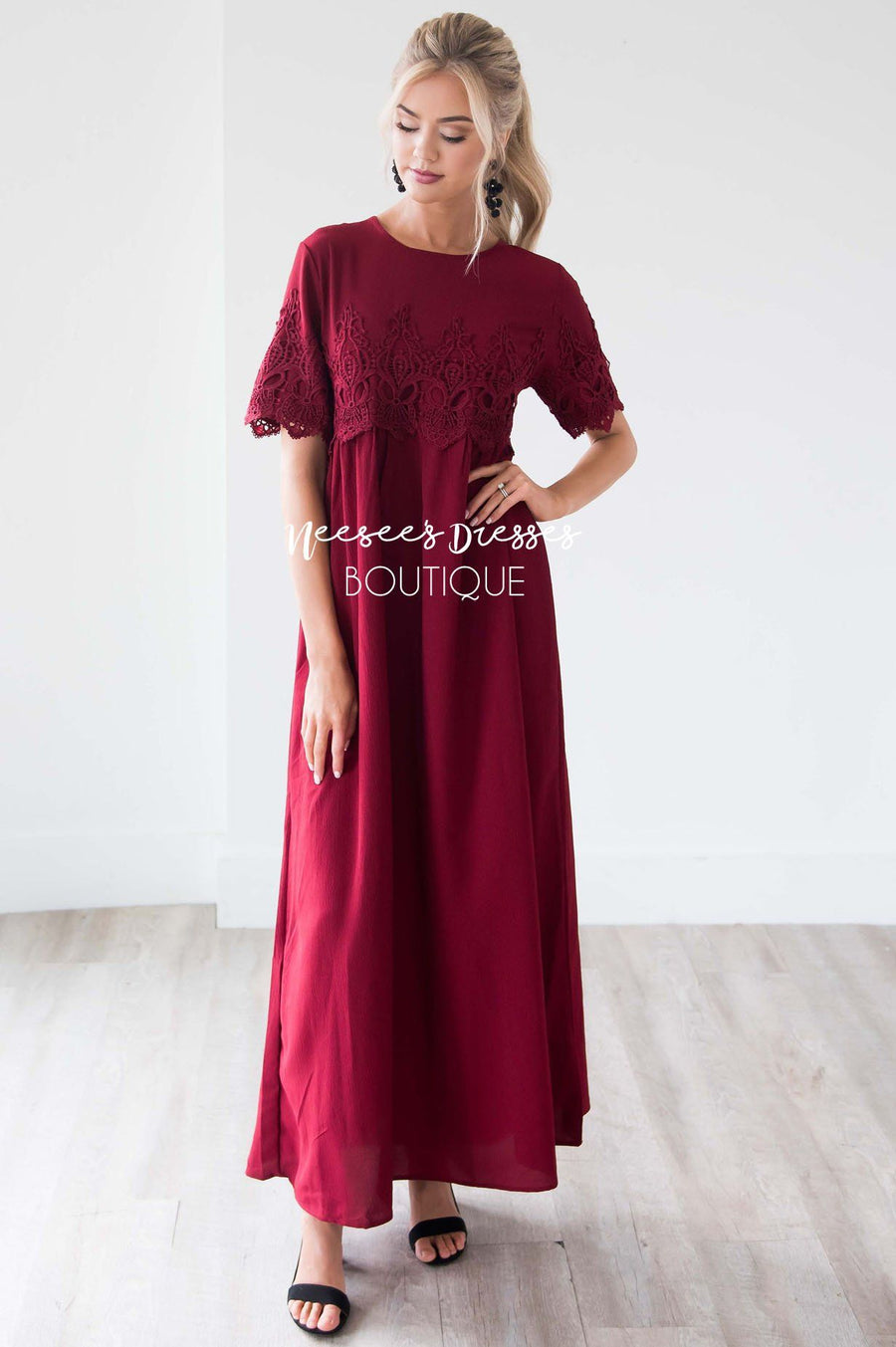 The Remington Maxi Dress Modest Dresses vendor-unknown