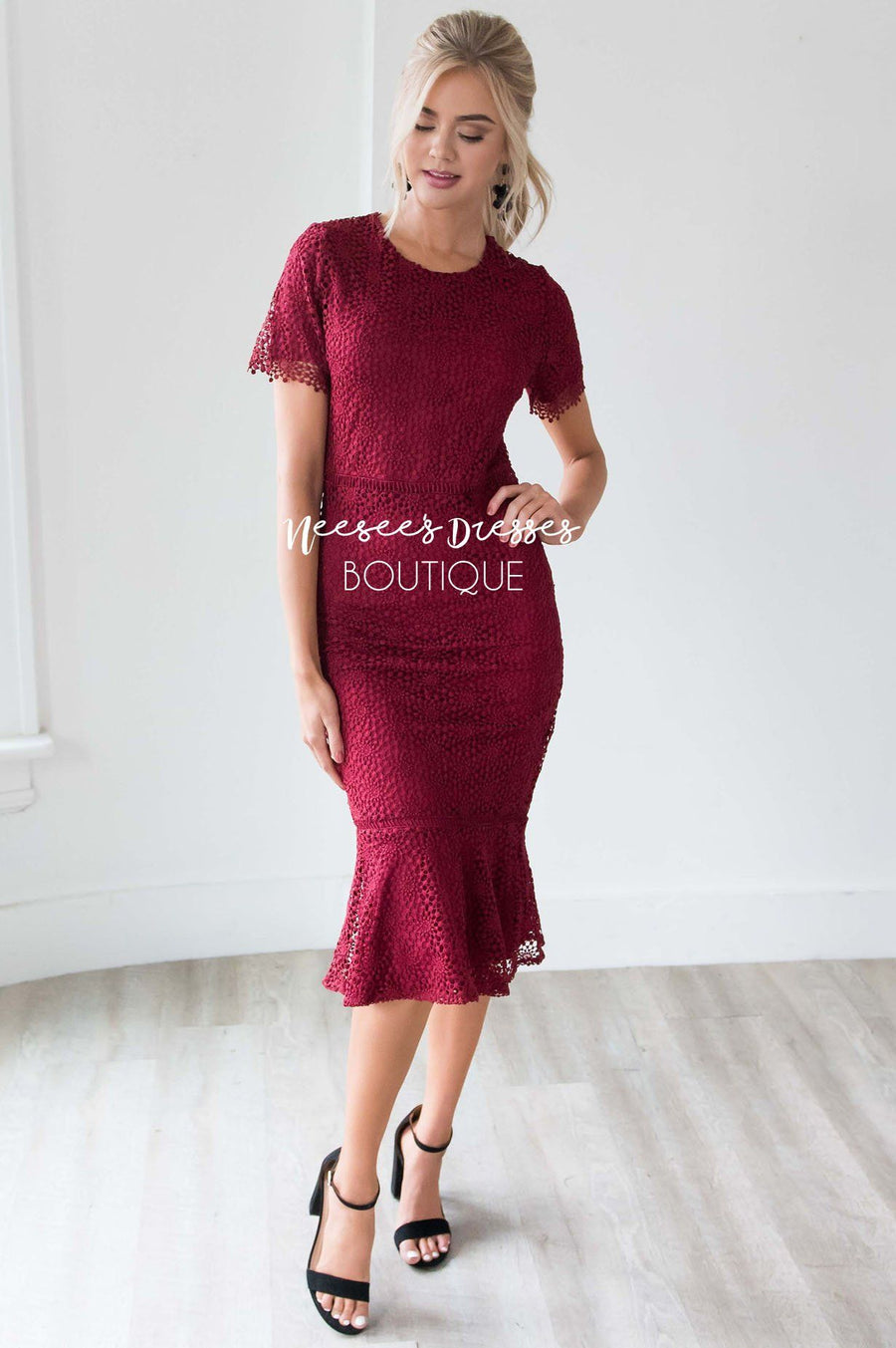 The Camila Modest Dresses vendor-unknown