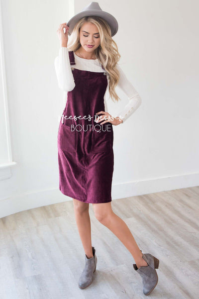 The Petra Pocket Overall Dress