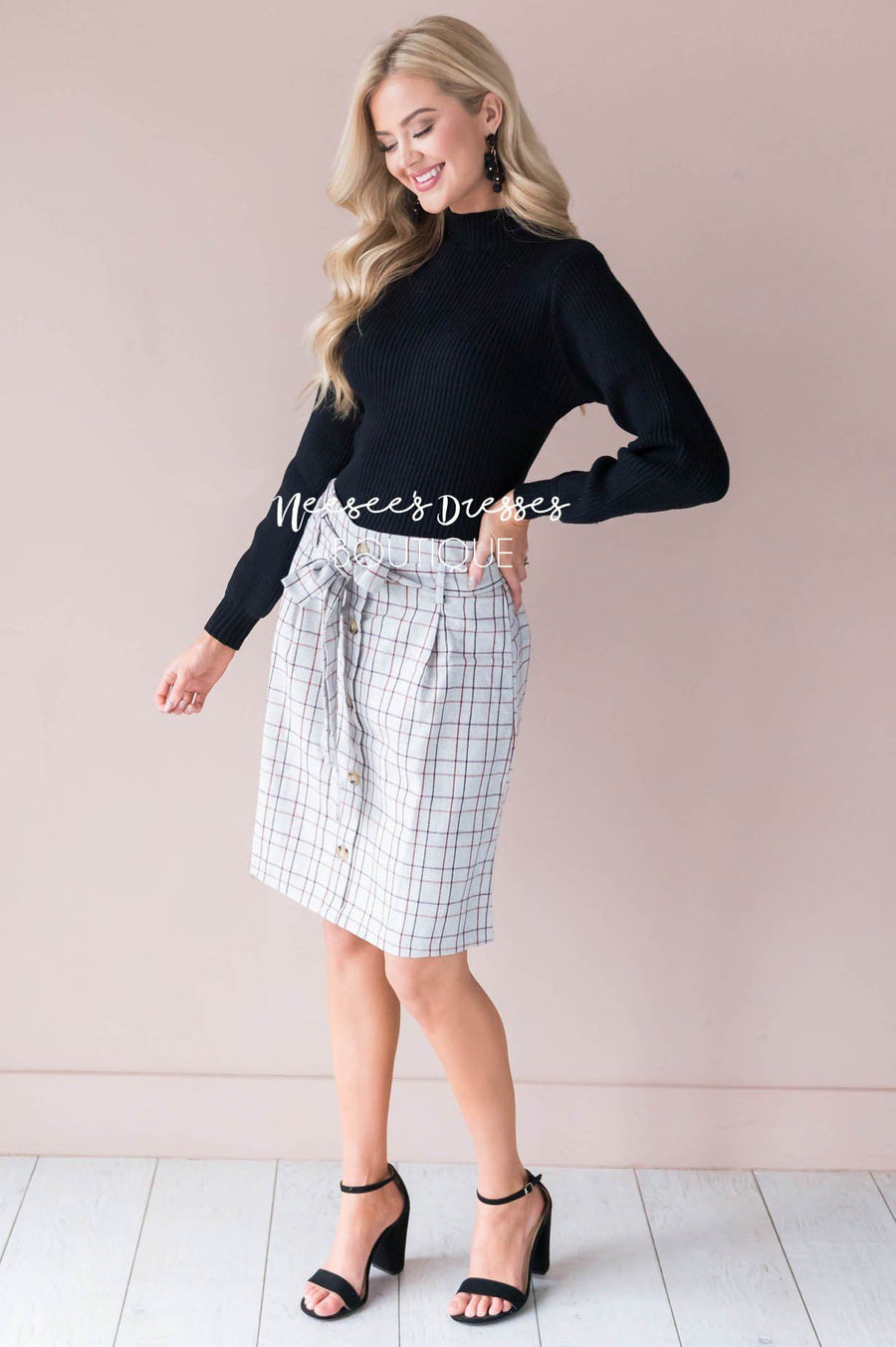 Mad About Plaid Skirt