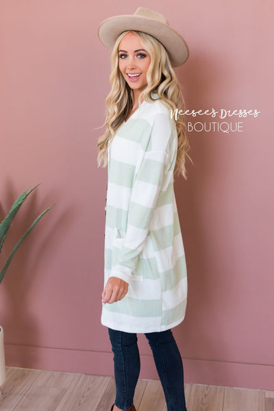 Take Your Chance Modest Cardigan Modest Dresses vendor-unknown