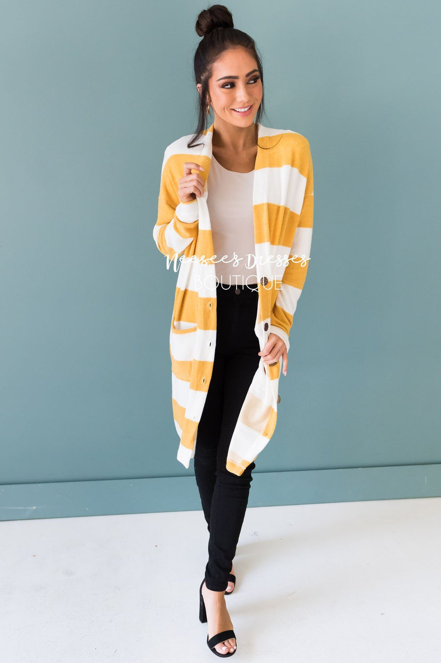 Take Your Chance Modest Cardigan
