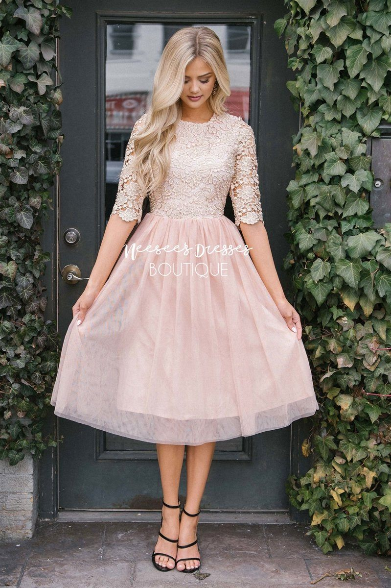 The Arabella Tulle Dress
