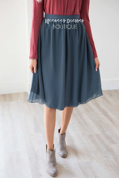 Unforgettably Yours Chiffon Skirt