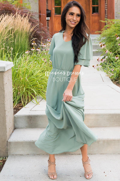 The Chloe Modest Dresses vendor-unknown