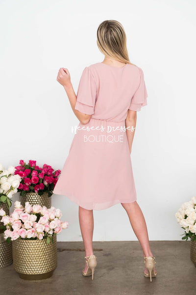 The Claire Chiffon Dress Modest Dresses vendor-unknown