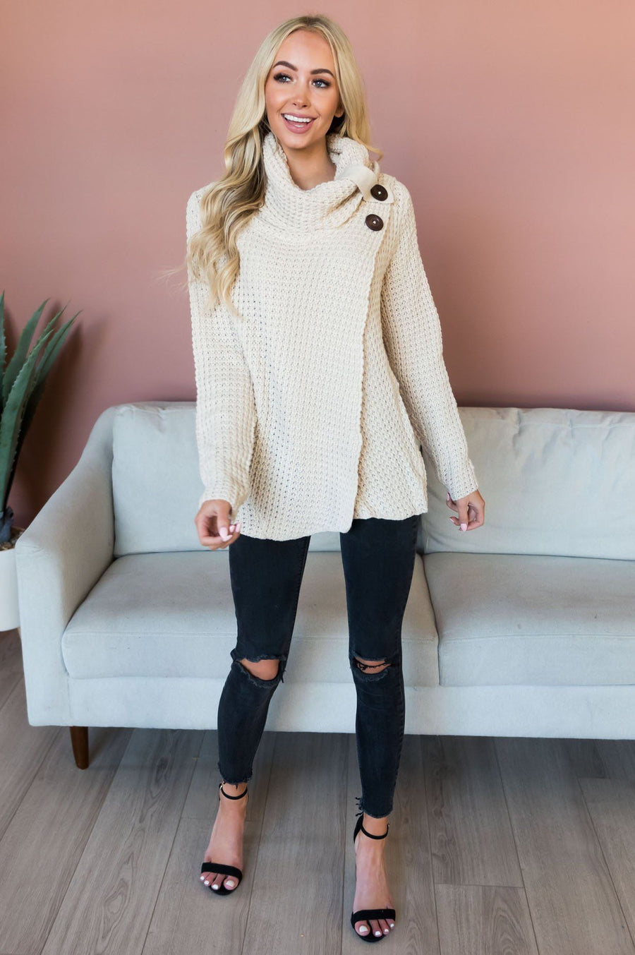 Cozy Cottage Modest Tunic
