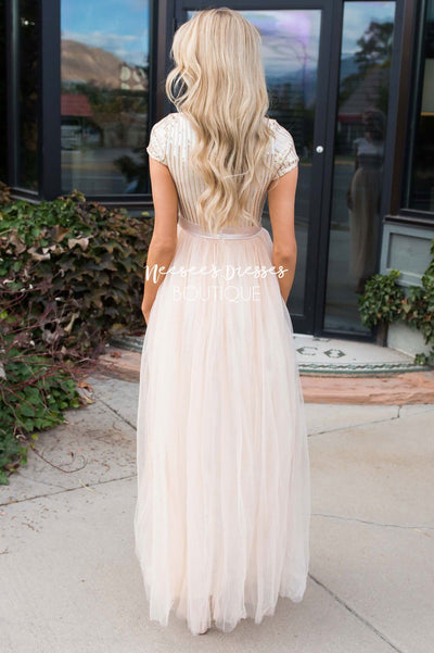 Prima Ballerina Full Length Gown Modest Dresses vendor-unknown
