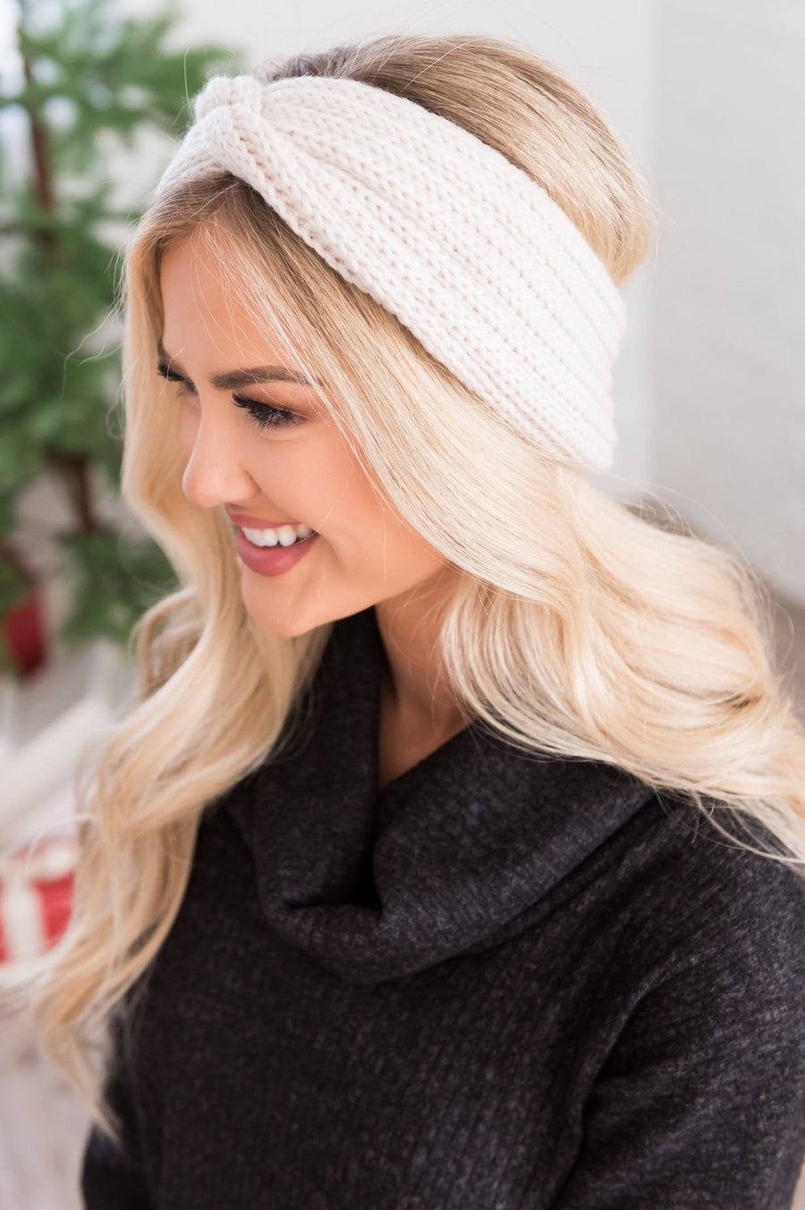 Chill For You Knit Head Warmer