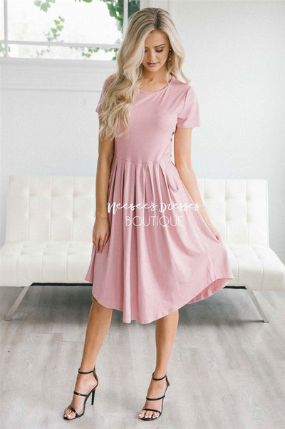 The Logyn Modest Dresses vendor-unknown S Pink