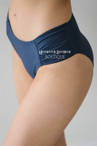 Summer Vacay Swim Bottoms Modest Swim vendor-unknown Navy XS
