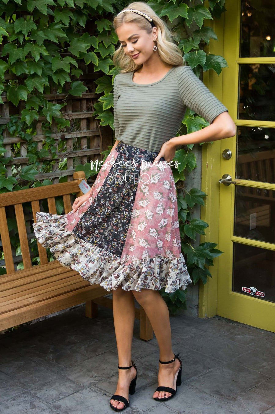 FREE Columbus Day Skirt + Dress Modest Dresses vendor-unknown