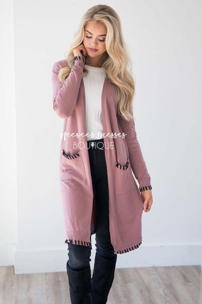 Where My Heart Leads Duster Cardigan