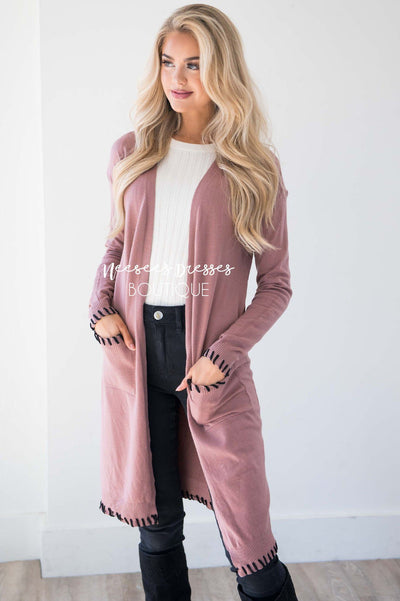 Where My Heart Leads Duster Cardigan Curvy vendor-unknown