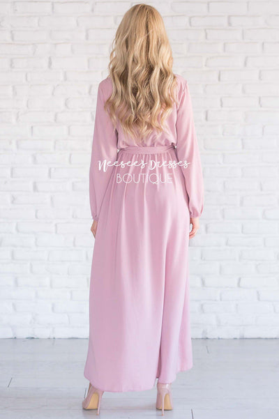 The Maleah - Long Sleeves Modest Dresses vendor-unknown