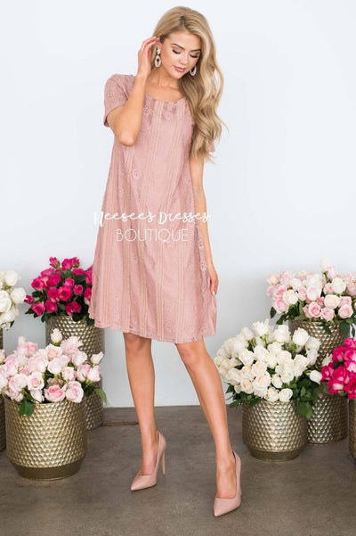 The Elise Lace Dress Modest Dresses vendor-unknown