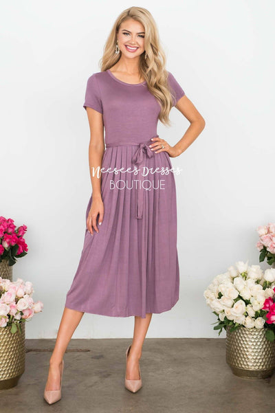 The Molly Pleats Dress Modest Dresses vendor-unknown