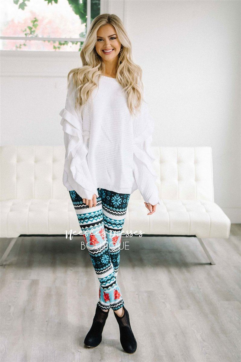 Christmas Tree Holiday Leggings