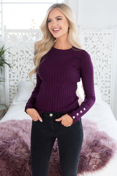 Never Wanted More Button Sleeve Top Tops vendor-unknown