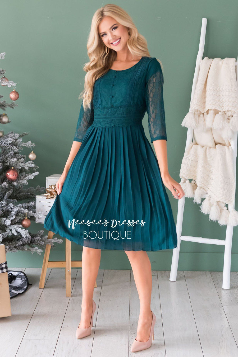 The Shania Modest Dresses vendor-unknown