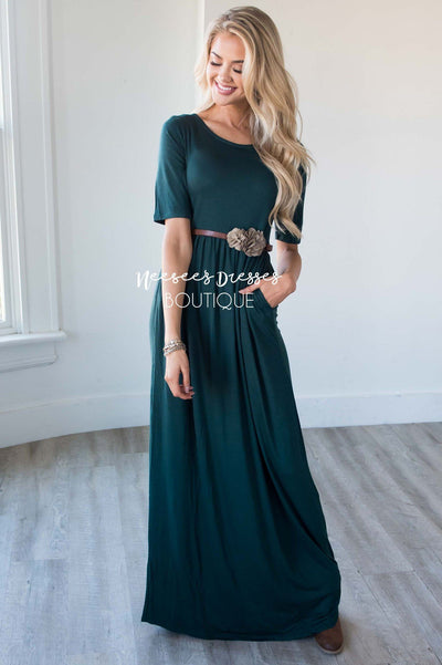 The Ritchie 3/4 Length Sleeve Maxi Dress