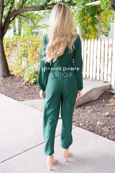 The Lolo Emerald Jumpsuit