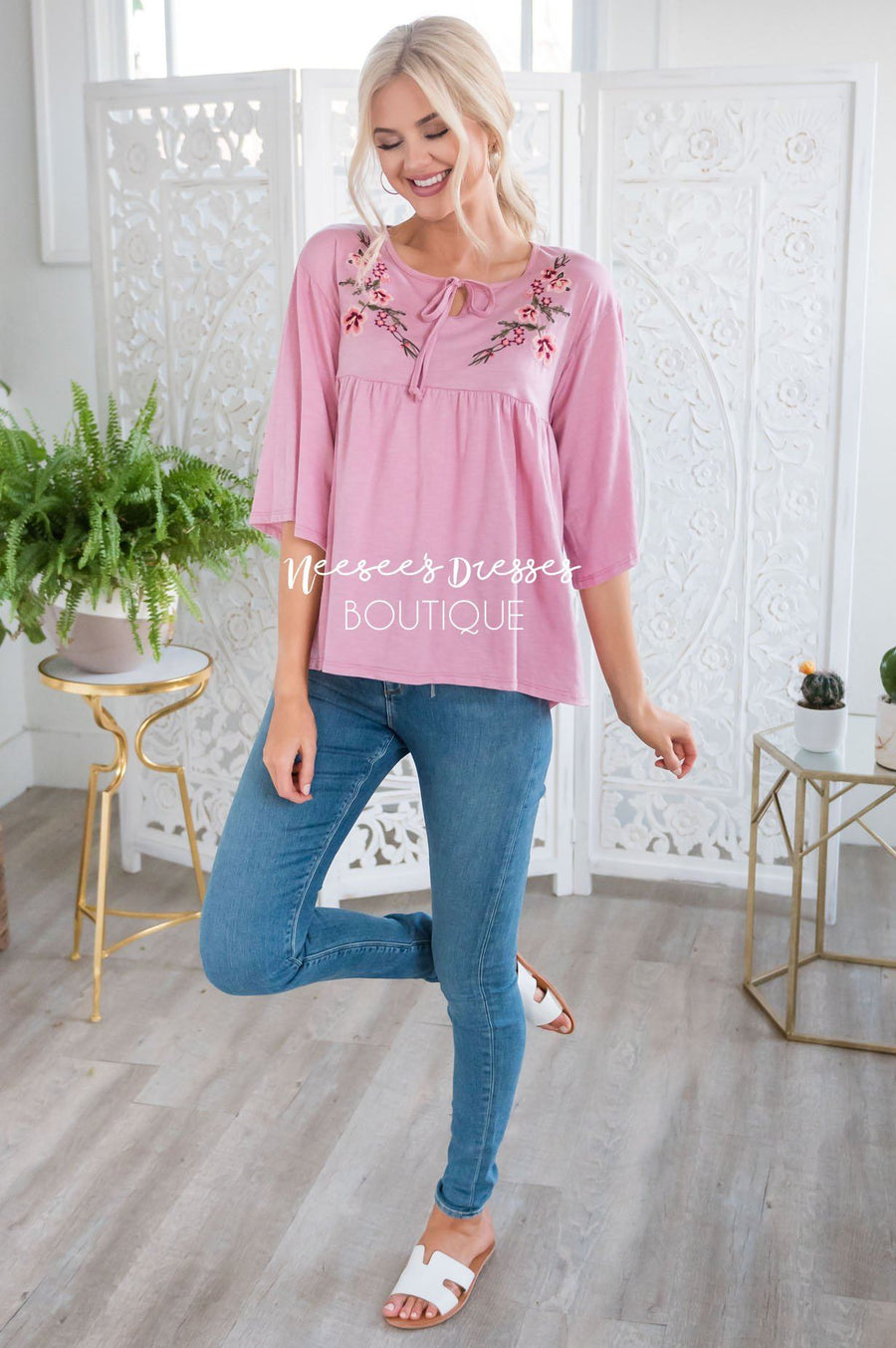 Enchanted Heart Baby Doll Top