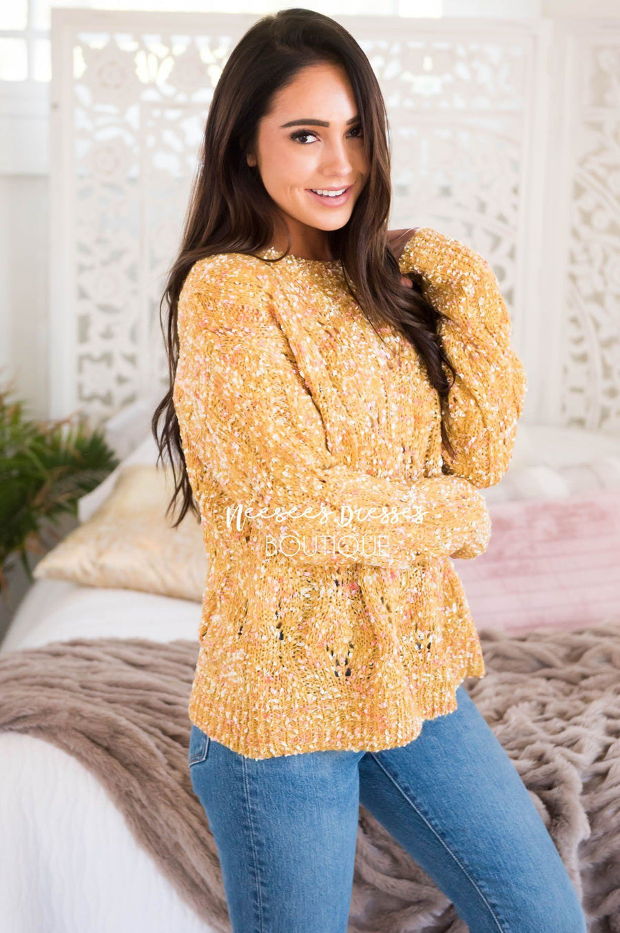 Everything Lovely Colorful Sweater