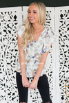 Fairytale Bliss Modest Flutter Blouse Tops vendor-unknown