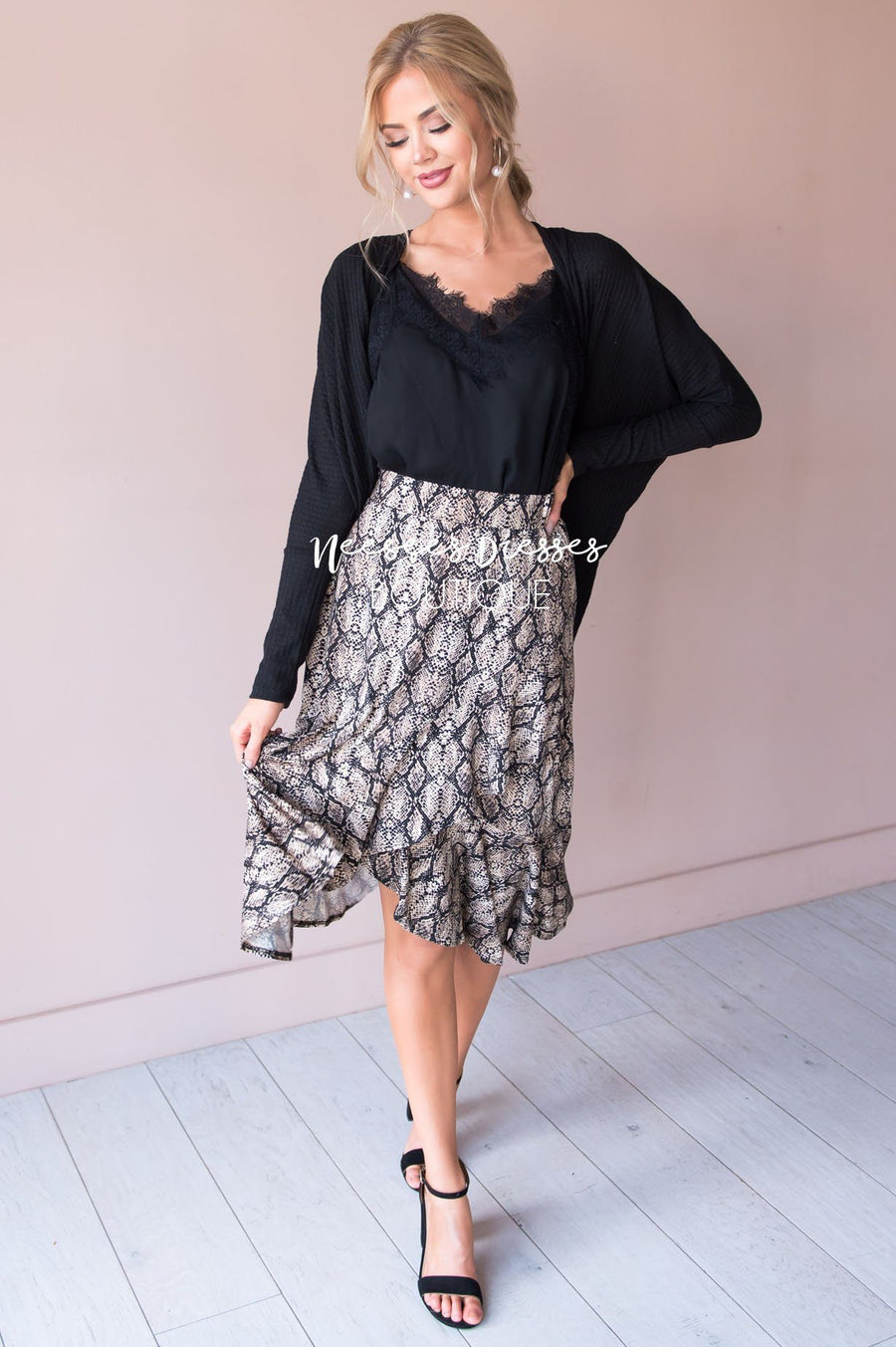 Gone Wild Ruffle Skirt