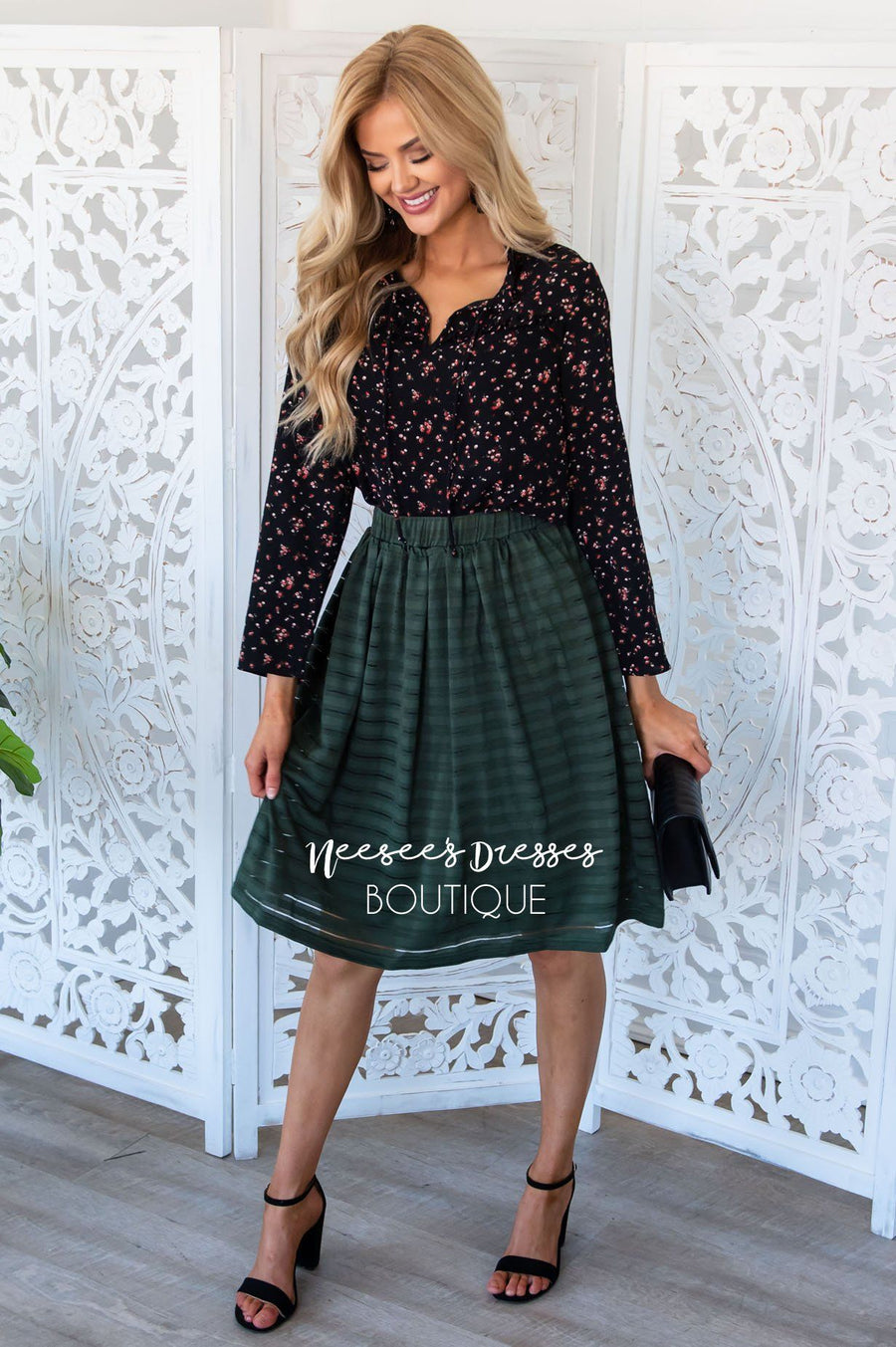 Good Day Sunshine Flowy Skirt