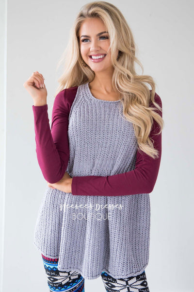 Meet Me By The Fire Knit Tunic