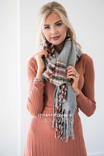 Wrap Me Up In Love Oversized Scarf
