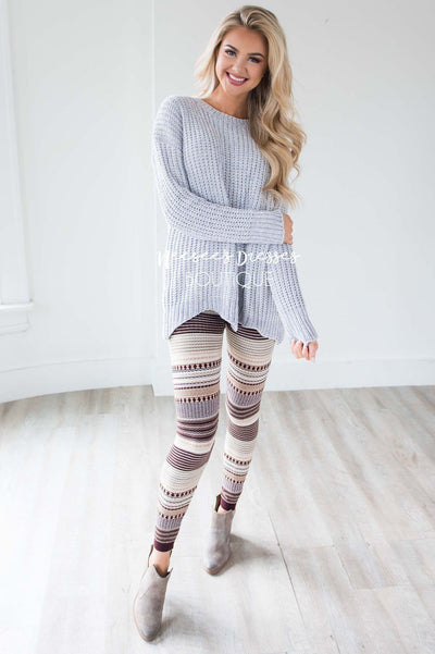 Cozy Fall Leggings Accessories & Shoes vendor-unknown
